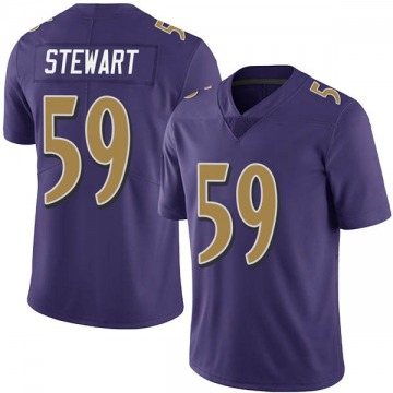 Youth Baltimore Ravens Silas Stewart Purple Limited Team Color Vapor Untouchable Jersey By Nike